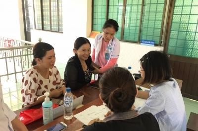 khám sản-phụ khoa miễn phí cho phụ nữ huyện mộ đức